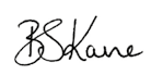 Bryan Kane Signature