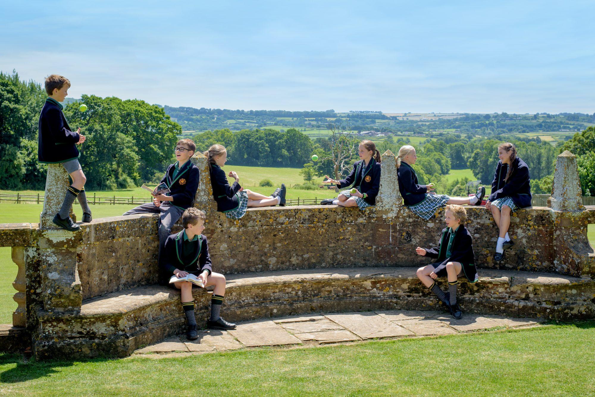 Scholarship Day at Perrott Hill Prep School in Somerset